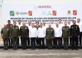 Fortalece Carlos Joaquín seguridad con alianza peninsular