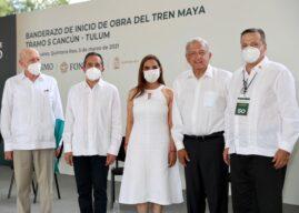 Andrés Manuel López Obrador designa al Diputado Luis Alegre Salazar como representante de la presidencia en la región para el Tren Maya