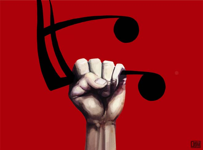 musica de protesta