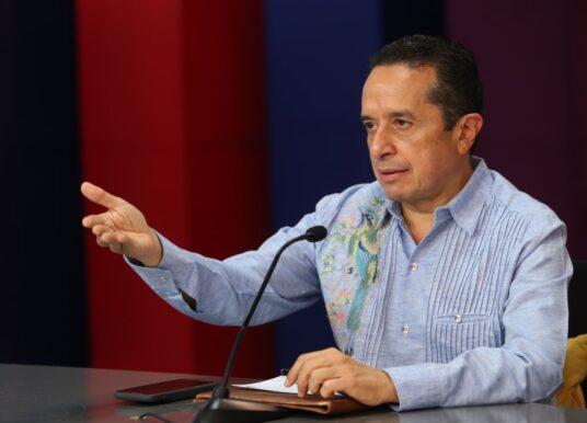 Quintana Roo está de pie y listo para continuar con la recuperación económica: Carlos Joaquín