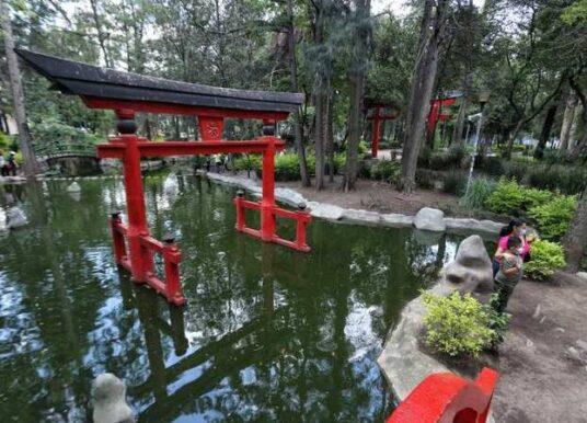 ¿Ya conoces el jardín japonés en la CDMX?