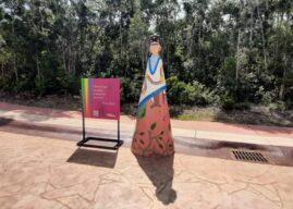 Artistas de Quintana Roo intervienen «Las Fridas» de Ciudad Mayakoba