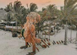 Tulum y su nuevo parque de esculturas gigantes